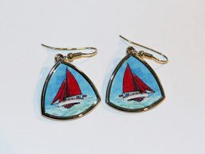 Nancy Blackett earrings